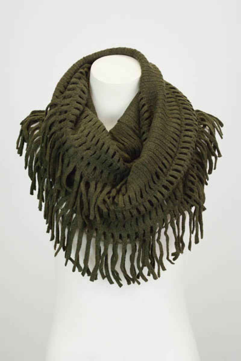 Wrap It In Love Scarf - Olive