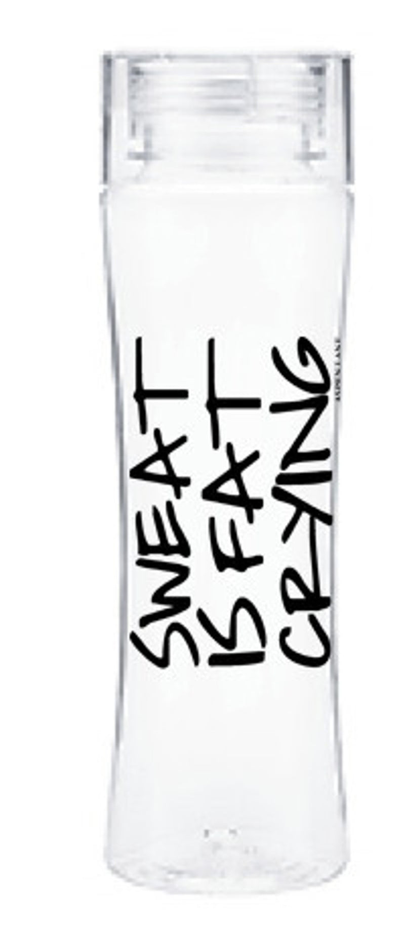Aspen Lane-Sweat Is Fat Crying Water Bottle-Black