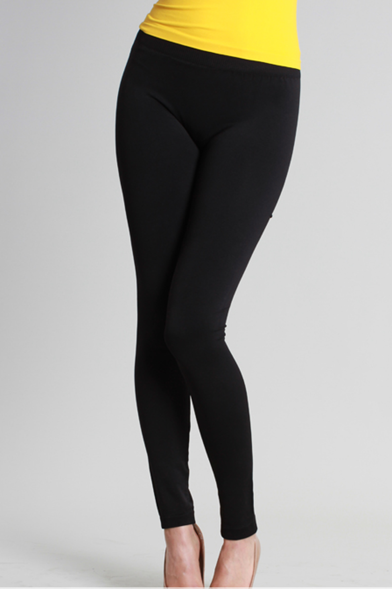 NikiBiki Basic Leggings-Black