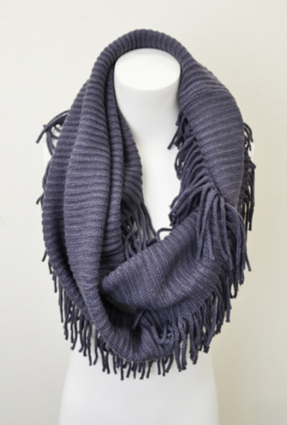 Baby It's Cold Outside Scarf - Charcoal