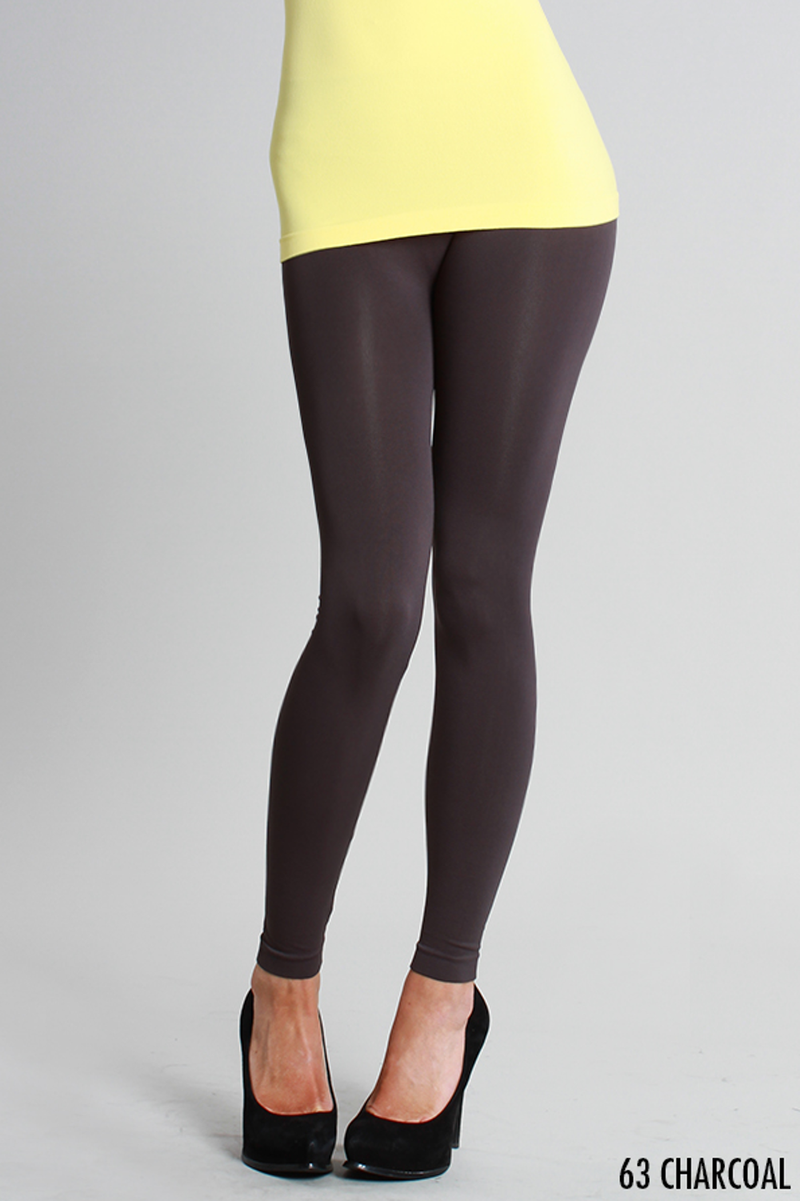 NikiBiki Basic Leggings-Charcoal
