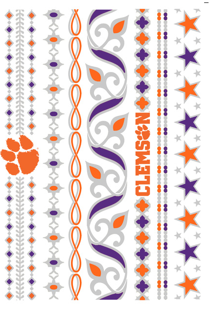 LuLu Dk-Clemson University Jewelry Tattoos