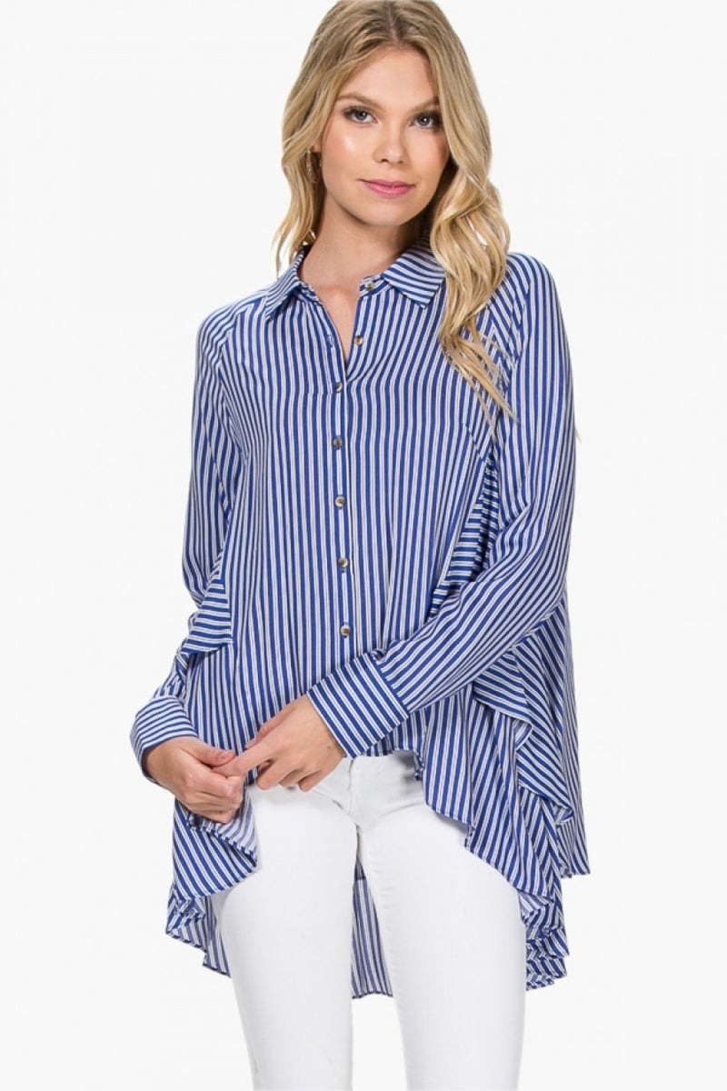 Everly-Back To The Start Top-Blue