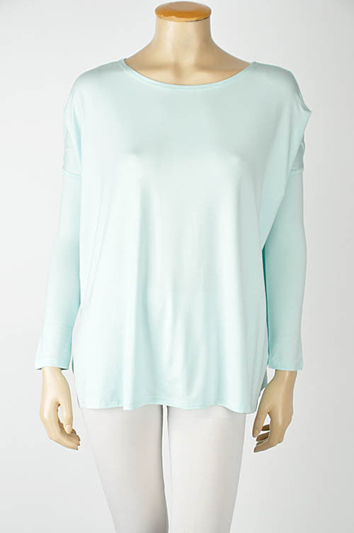 The Perfect Piko Top-Mint