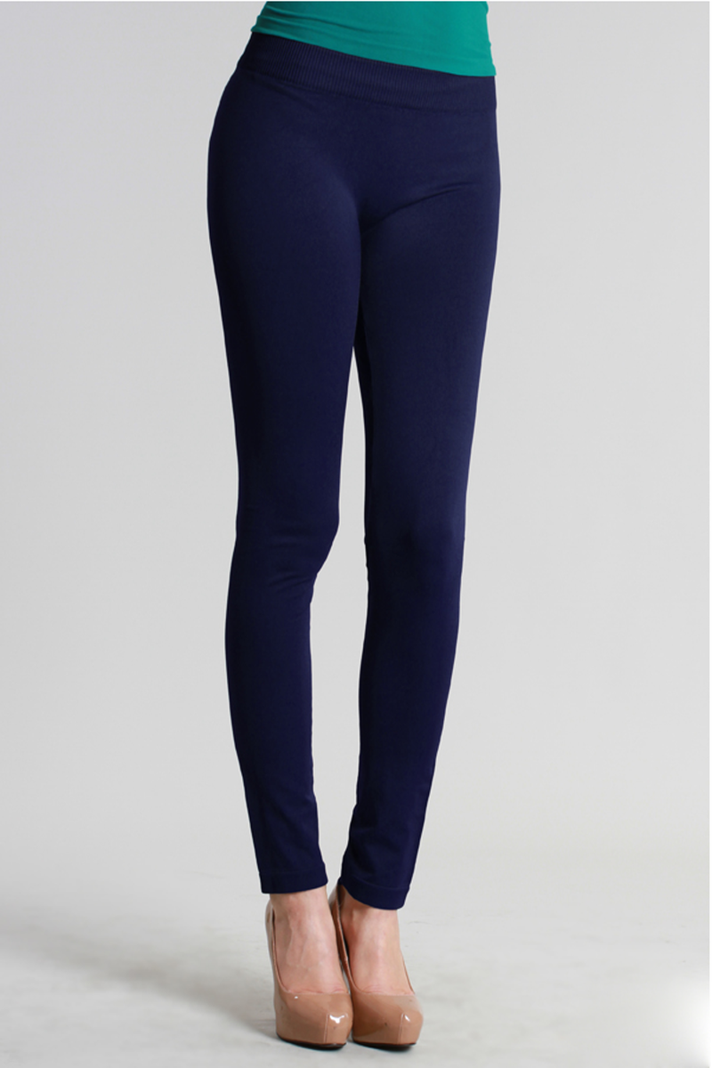 NikiBiki Basic Leggings-Navy