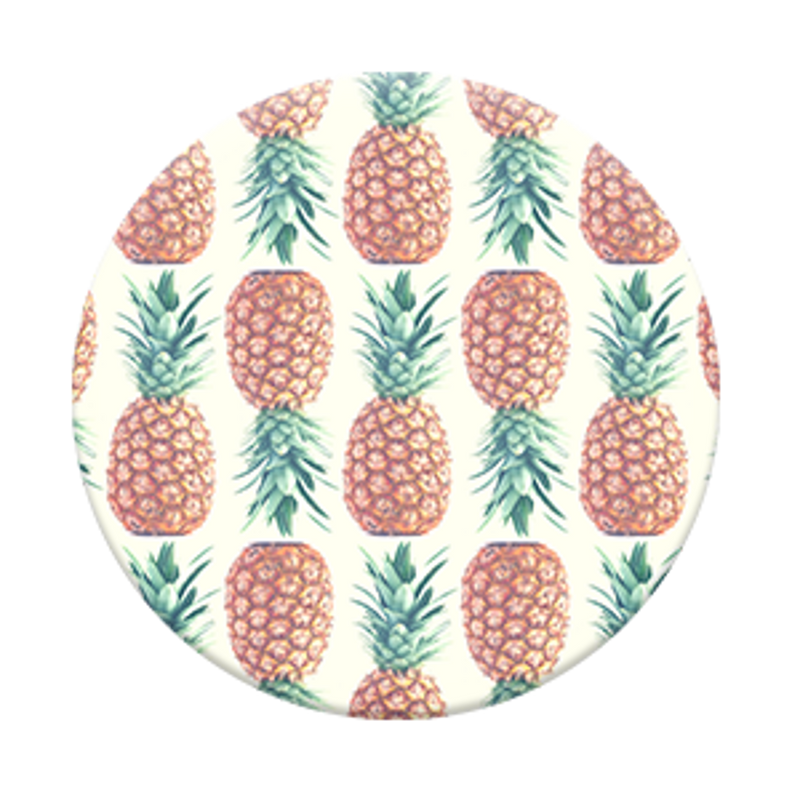 SALE-Pop Socket-Pineapple Pattern