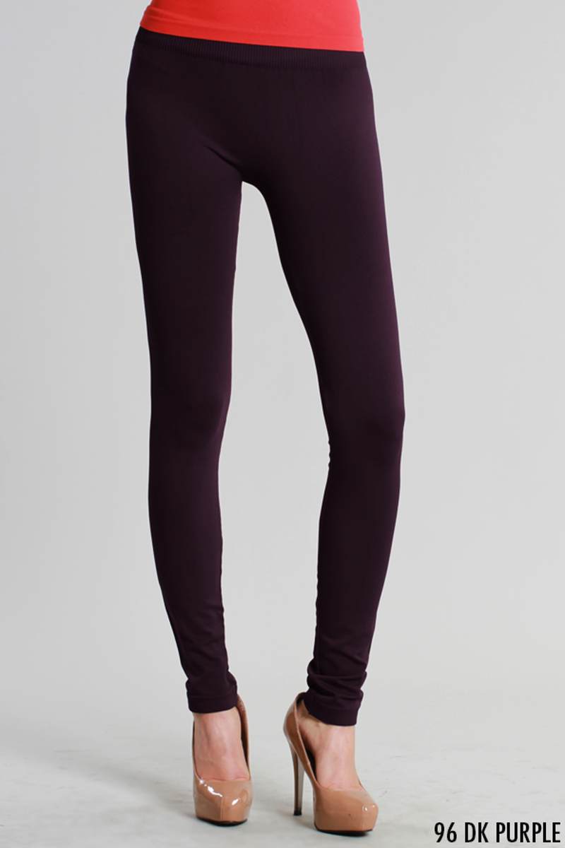 NikiBiki Basic Leggings-Dark Purple