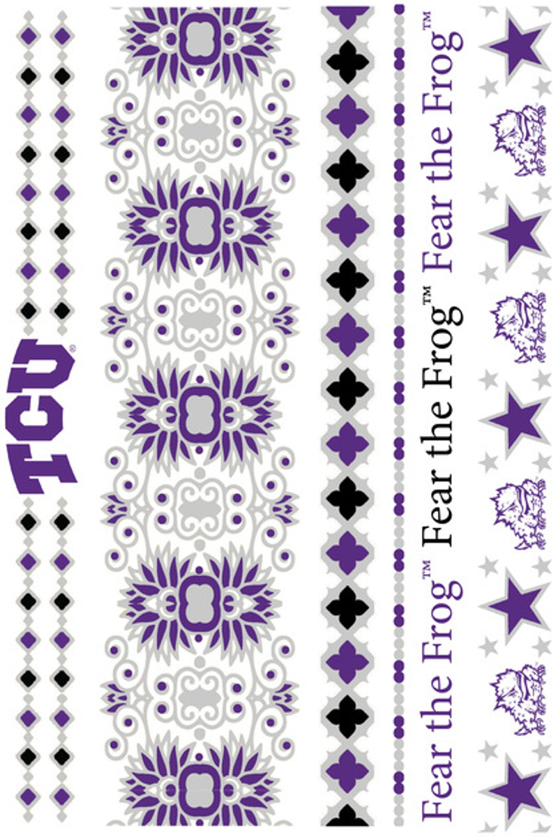 SALE-LuLu Dk-Texas Christian University Jewelry Tattoos