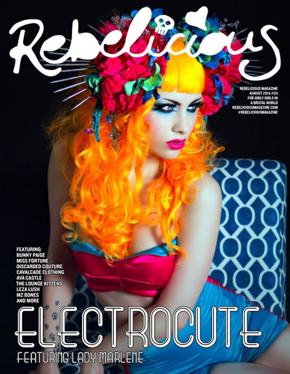 Rebelicious Electrocute Issue 24 August 2014