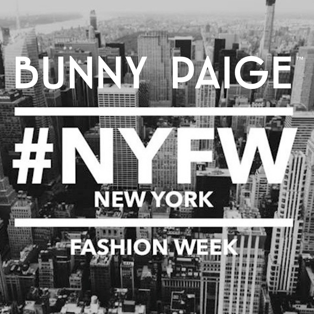 Bunny Paige at NYFW 2017!