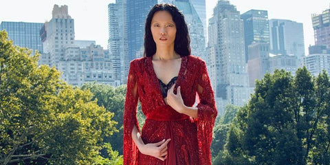 Ling Tan braves NYC storm for this Marie Claire exclusive