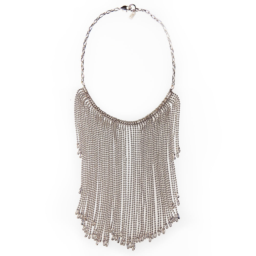 Deco Fringe Collar