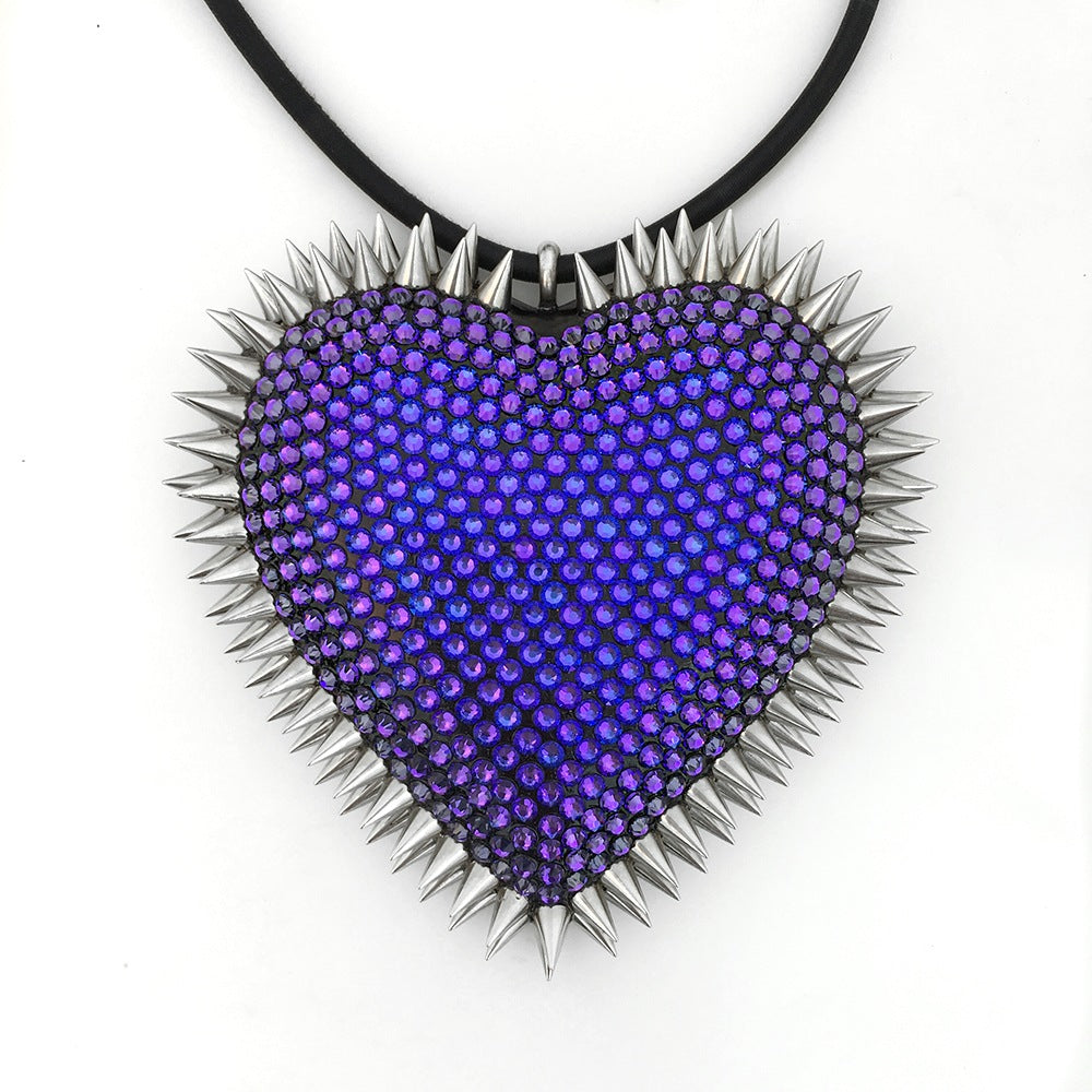 Heartbreaker Necklace | Heliotrope