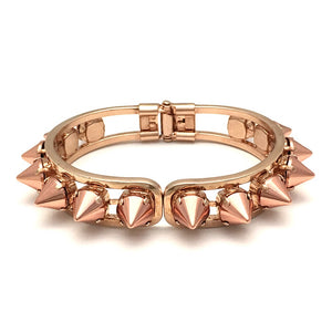 Hinged Cuff Bracelet | Rose Gold