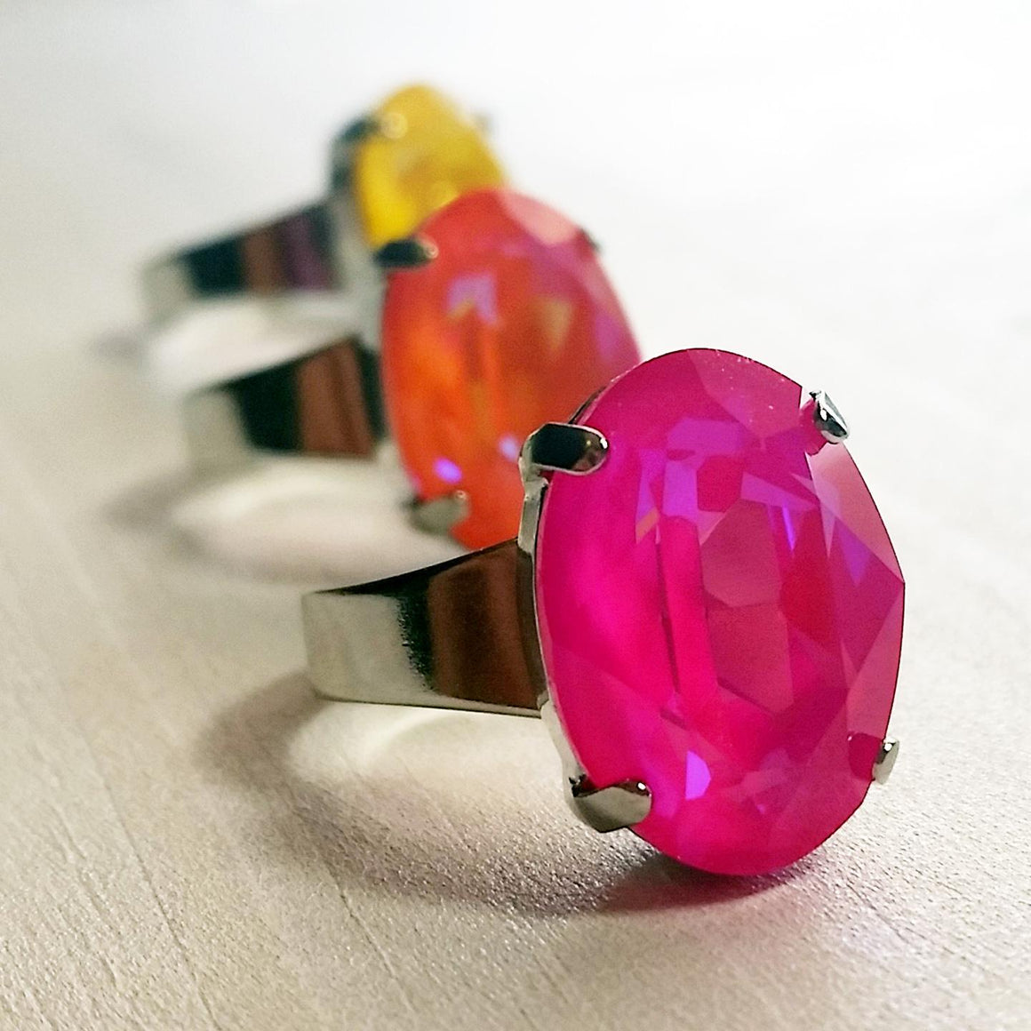 Neon Crown Jewel Ring