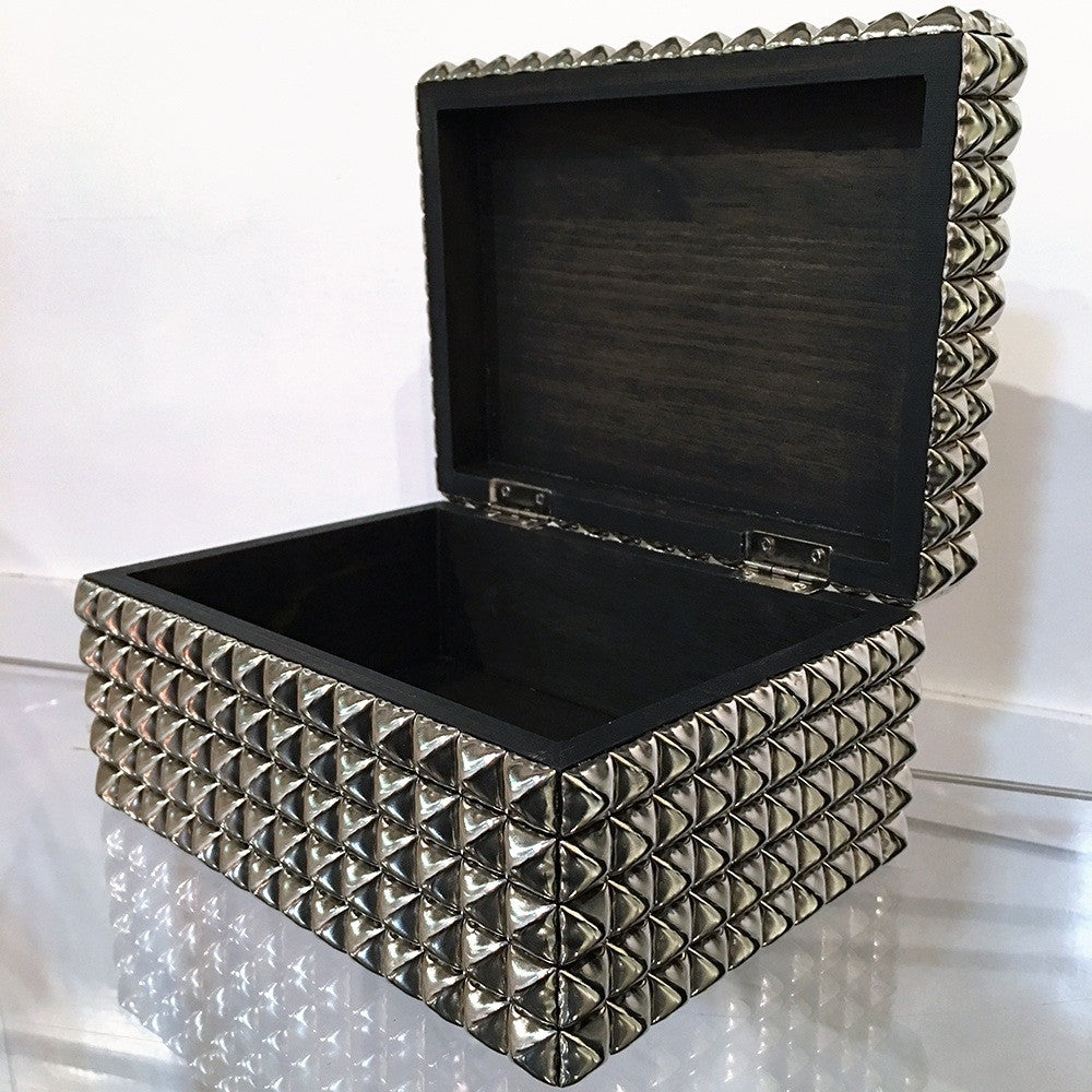 Heavy Metal Studded Box
