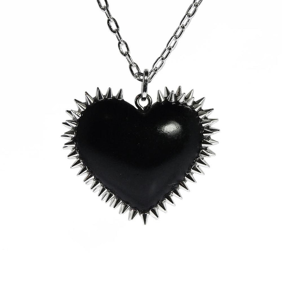 Sweetheart Spiked Heart Necklace