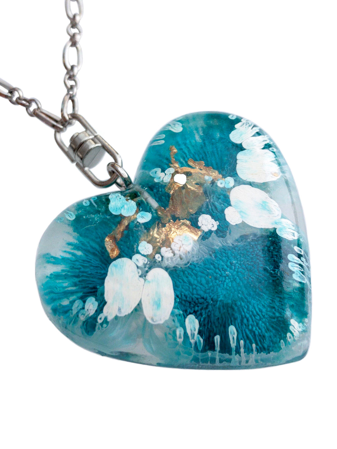 Aqueous Heart | Turquoise