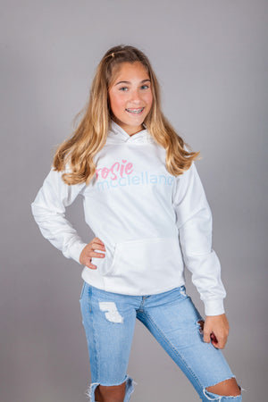 Adult Classic Hoodie White