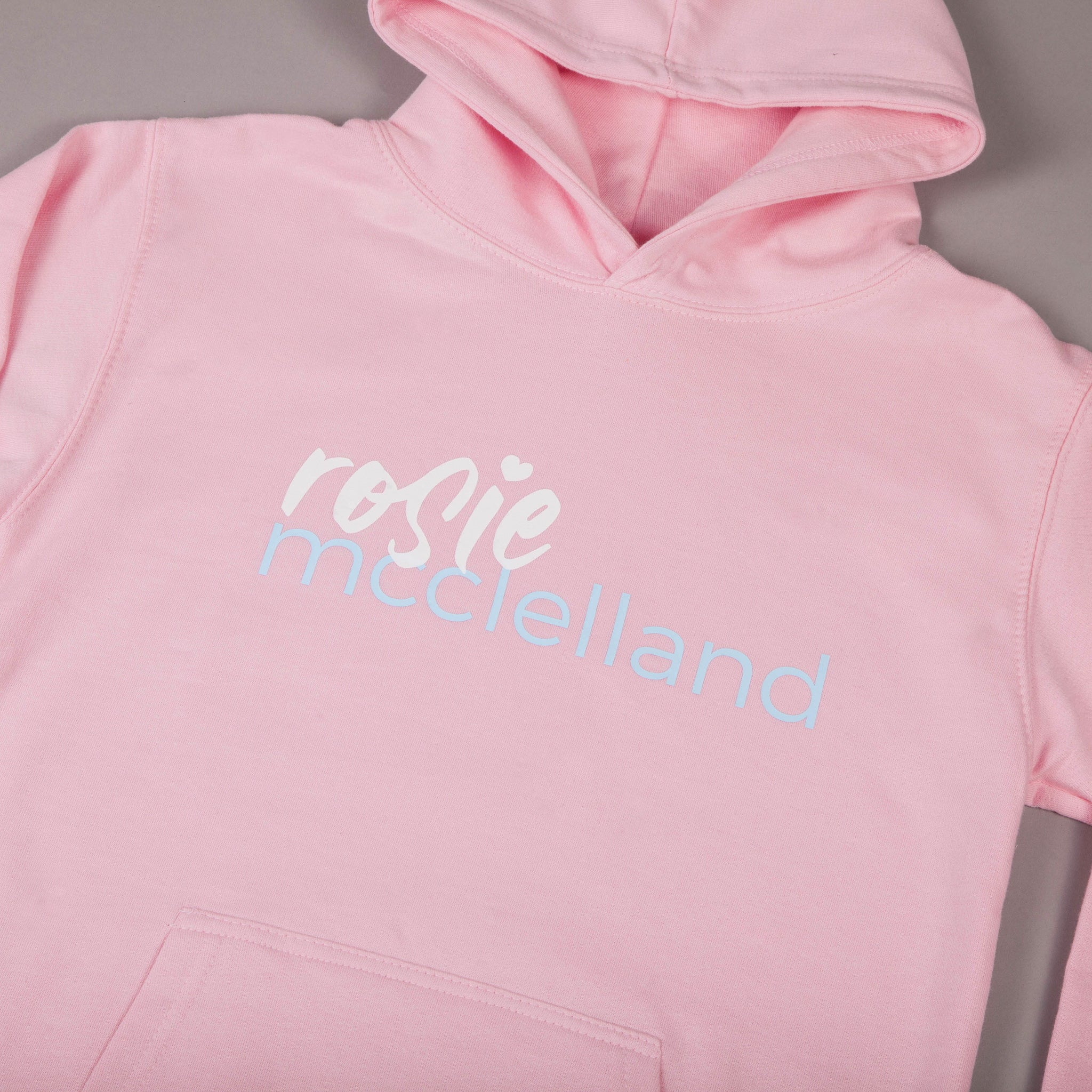 Kids Classic Hoodie Baby Pink