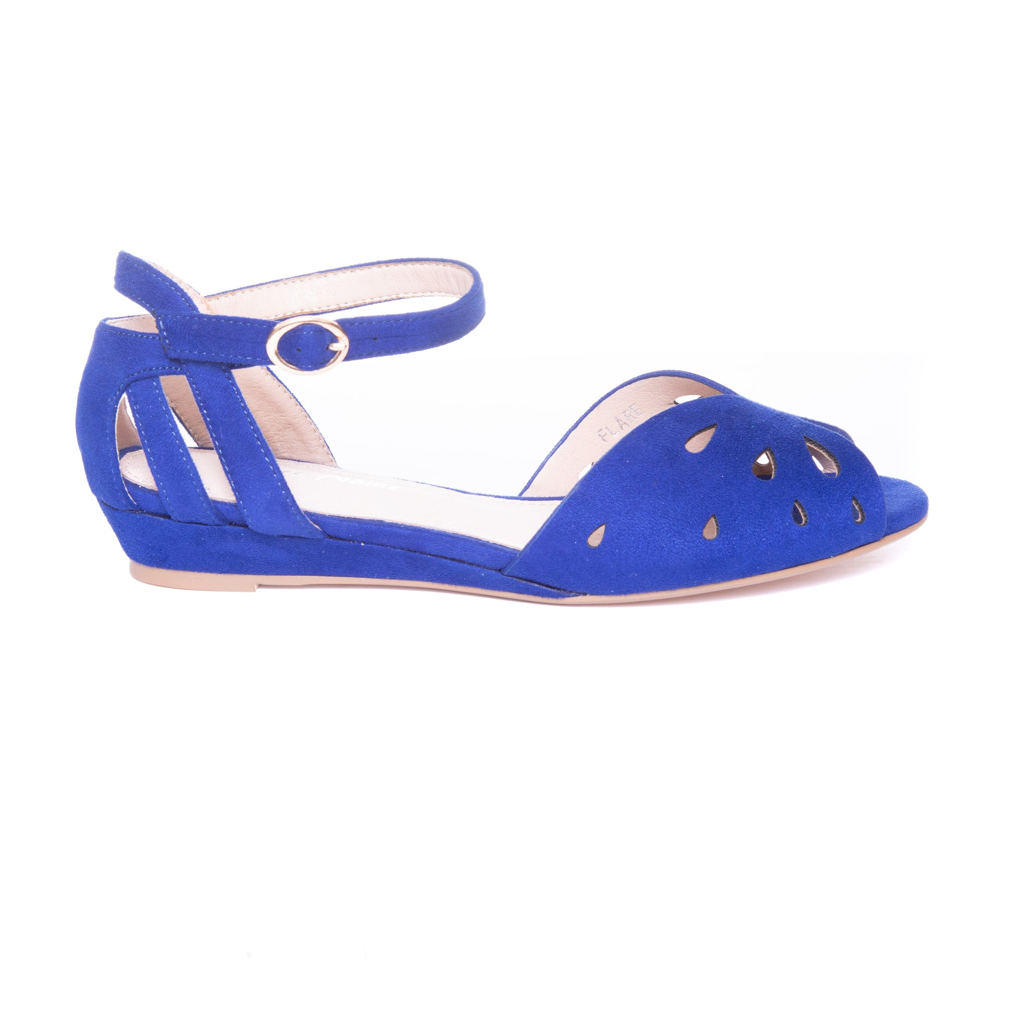 Flare Women's Ankle Strap Flat Sandals