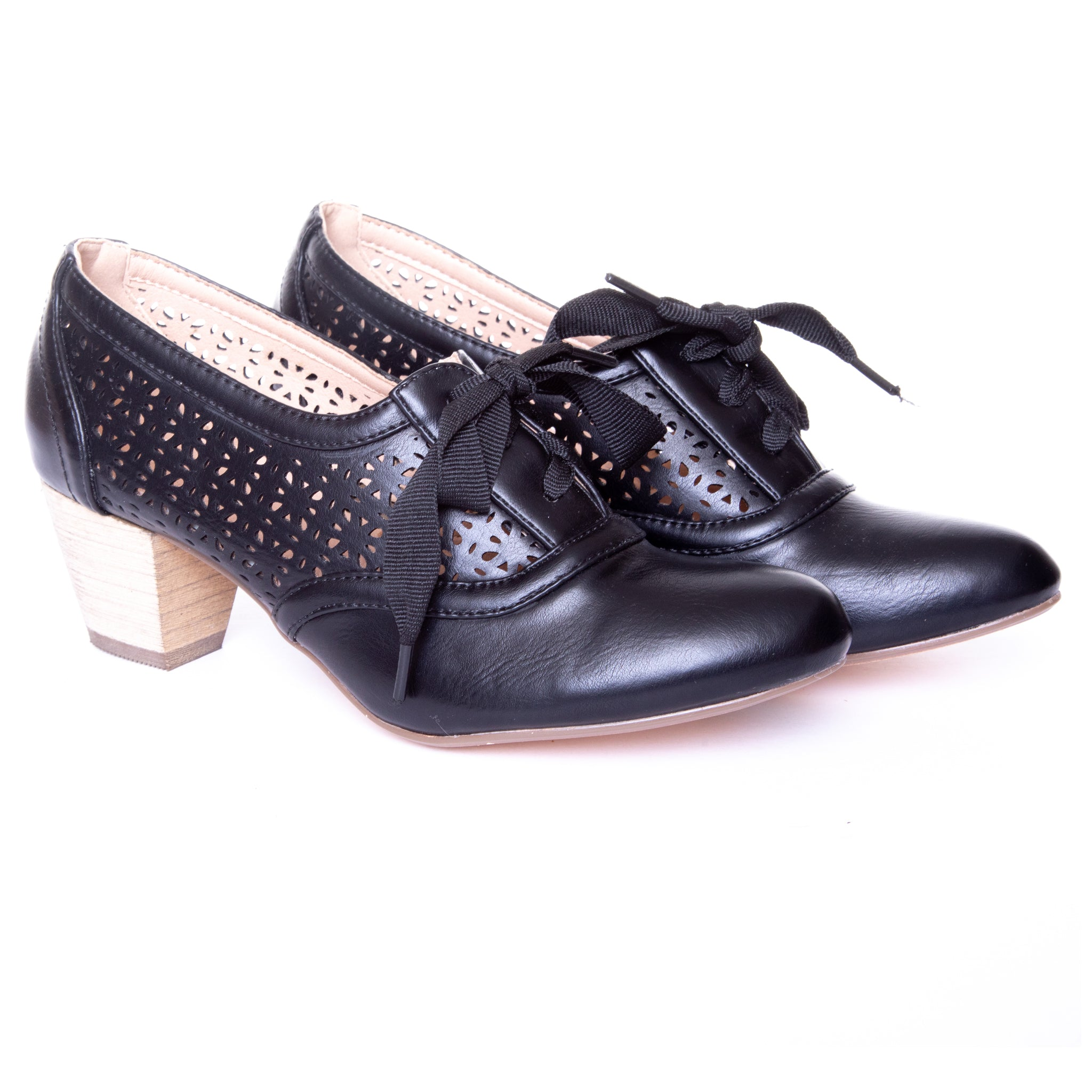Selena Women's Lace-Up Oxford Pumps