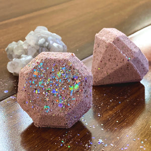 |self+Love| diamond bath bomb