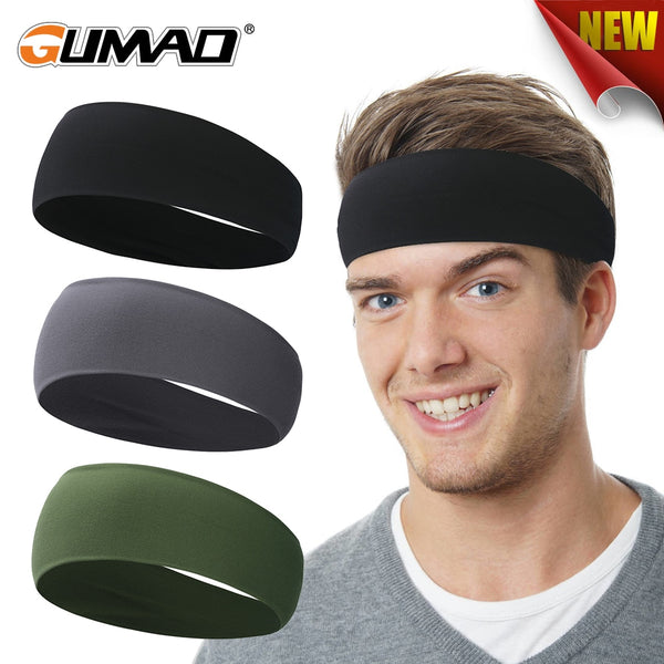 Outdoor Sport Fitness Sweatband Bike Cycling Running Workout Jogging Yoga Headband Gym Headscarf Tennis Hair Band Men Women Girl