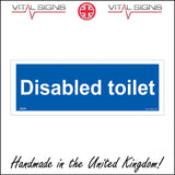 GE362 Disabled Toilet Sign