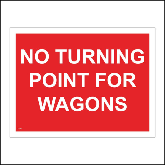 CS361 No Turning Point For Wagons