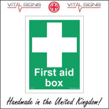 FS103 First Aid Box Sign with Cross