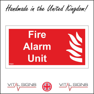 FI221 Fire Alarm Unit Offices Workplace Factory Warehouse Construction Medical School