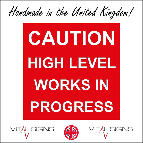 CS311 Caution High Level Work In Progress Sign