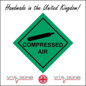 HA050 Compressed Air Sign with Cannister