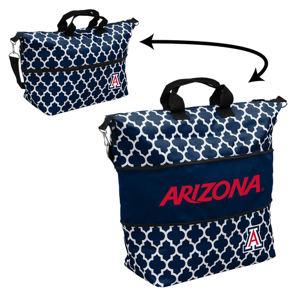 Arizona-Quatrefoil-Expandable-Tote
