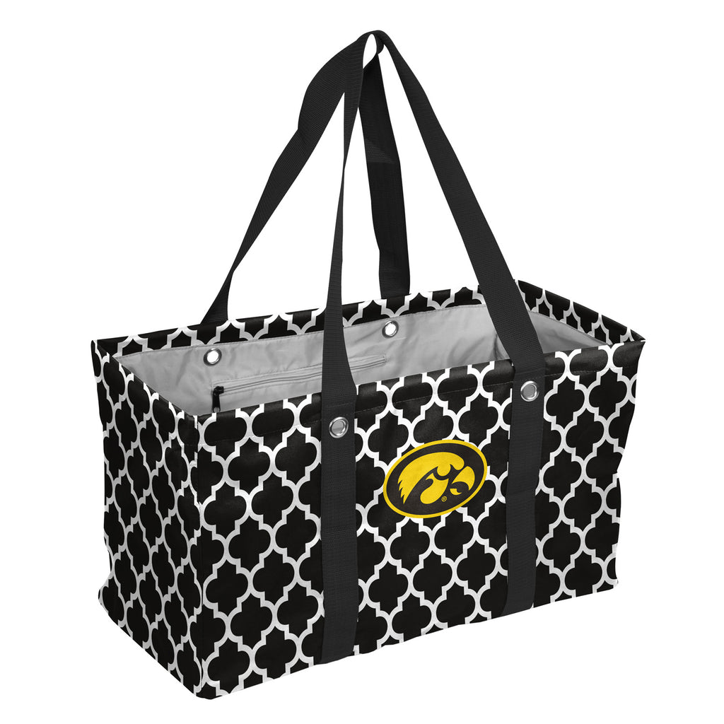 Iowa-Quatrefoil-Picnic-Caddy