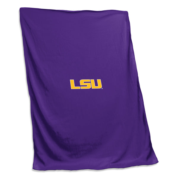 LSU Sweatshirt Blanket