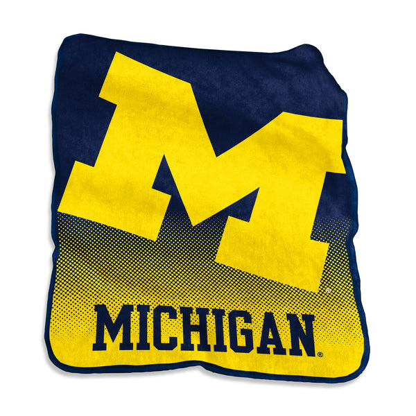 Michigan-Raschel-Throw
