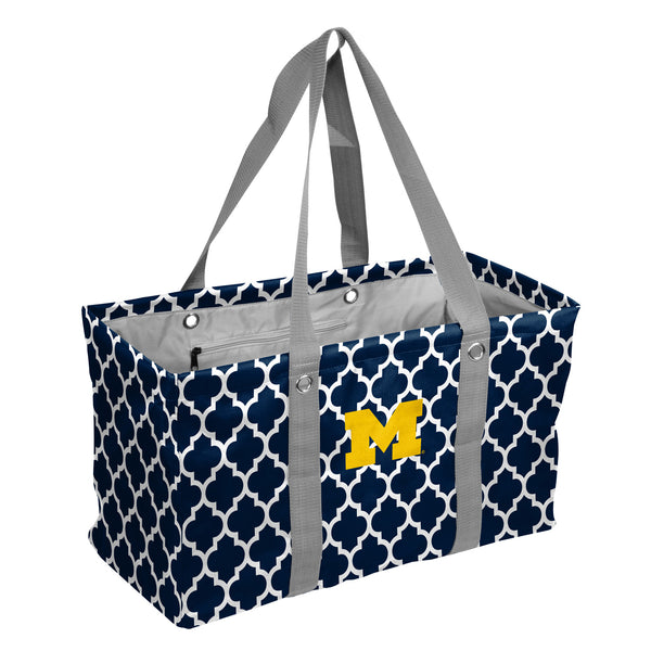 Michigan-Quatrefoil-Picnic-Caddy