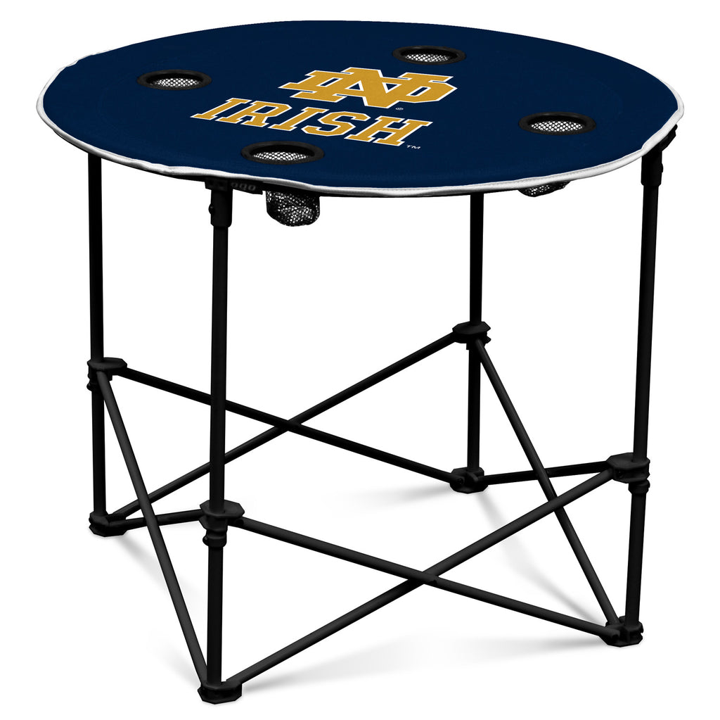 Notre Dame Navy/White Round Table