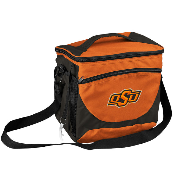OK State 24 Can Cooler