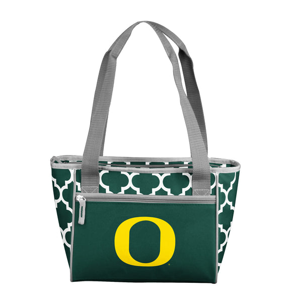 Oregon Quatrefoil 16 Can Cooler Tote