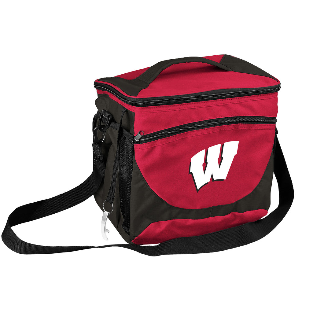 Wisconsin 24 Can Cooler
