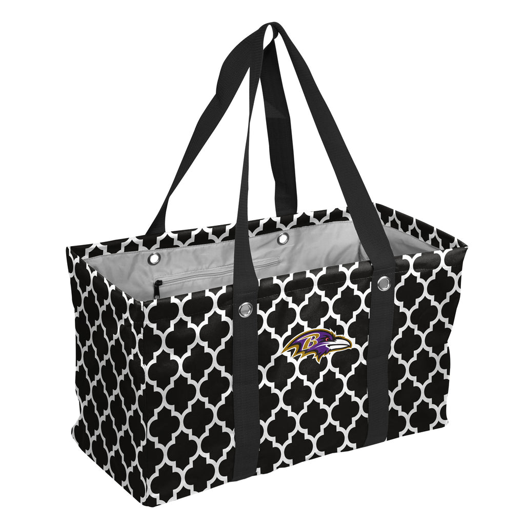 Baltimore-Ravens-Quatrefoil-Picnic-Caddy