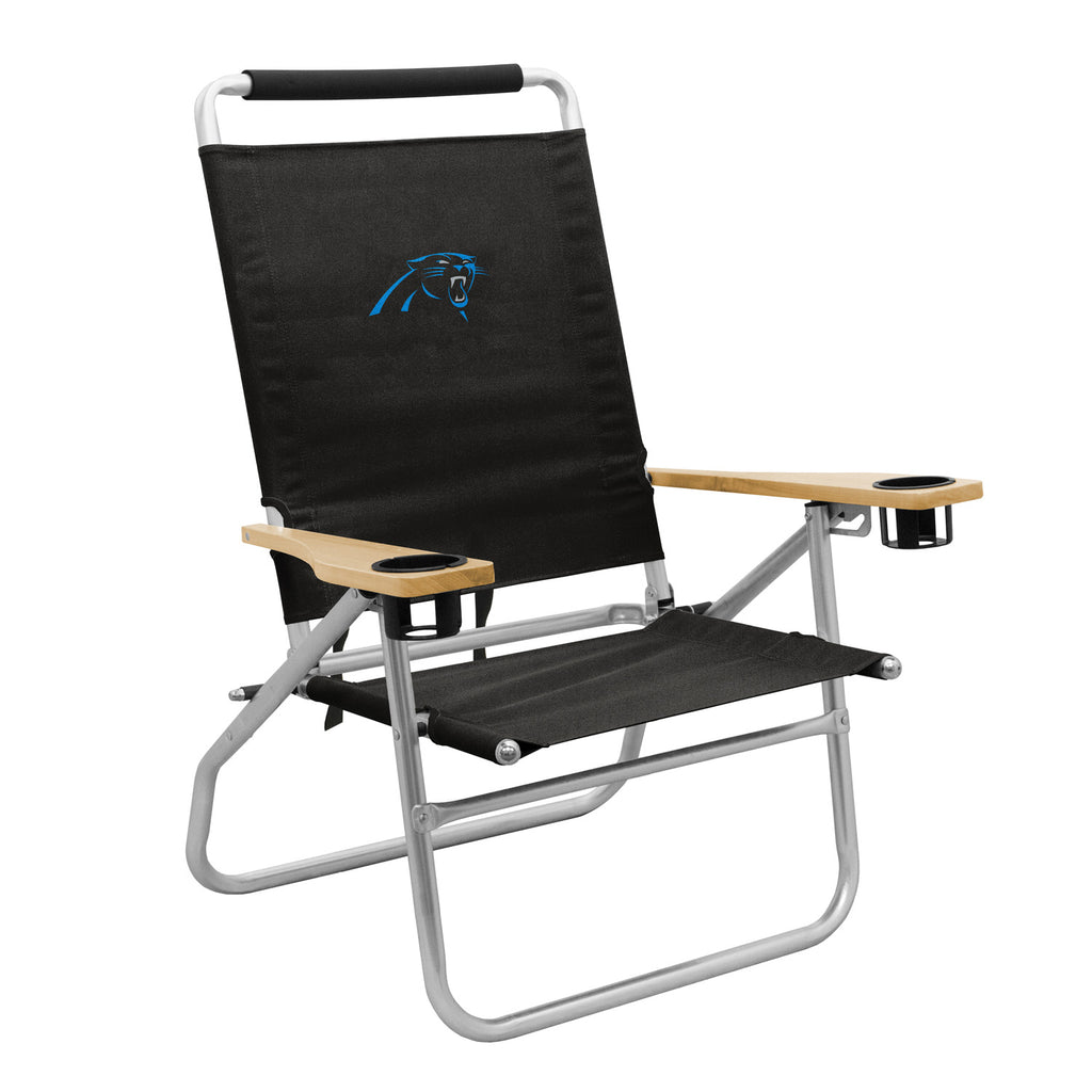 Carolina-Panthers-Beach-Chair