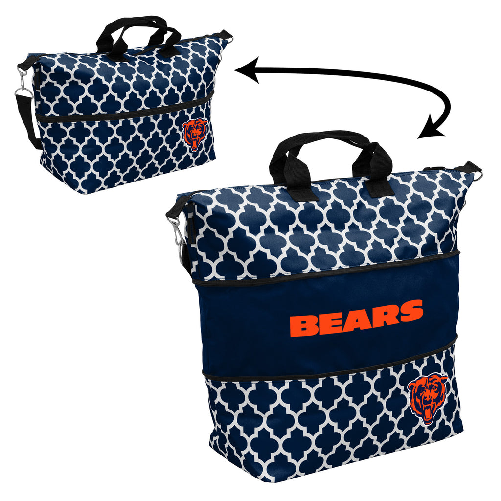 Chicago-Bears-Quatrefoil-Expandable-Tote