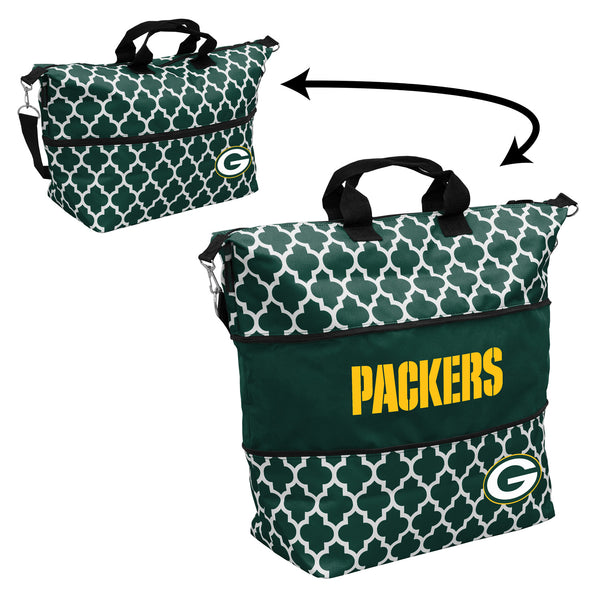 Green-Bay-Packers-Quatrefoil-Expandable-Tote