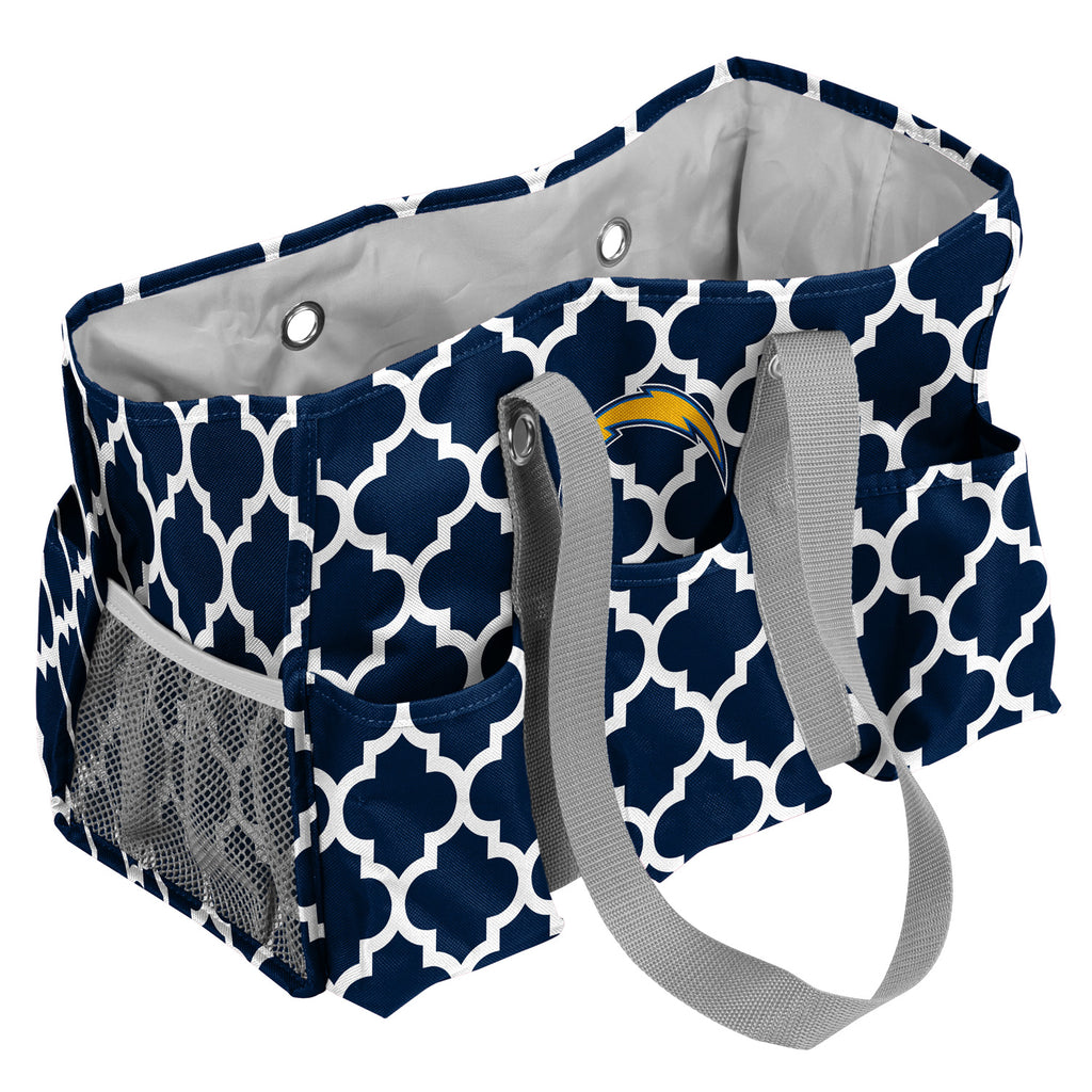 LA Chargers Quatrefoil Jr Caddy