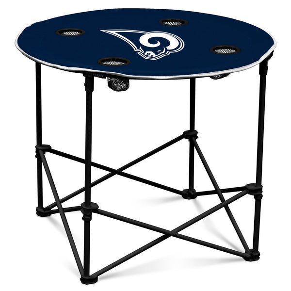 LA Rams Navy/White Round Table