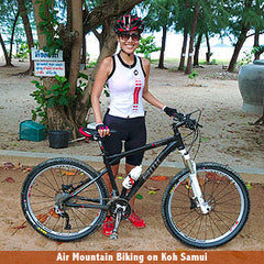Air Page from Air Thai Life Mountain Biking on Koh Samui Thailand